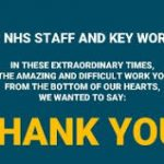 thank you nhs and key workers